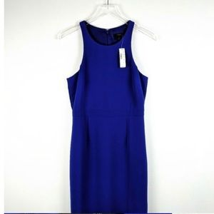 J CREW purple blue dress